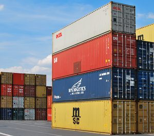 Liquidación para una transportista de contenedores