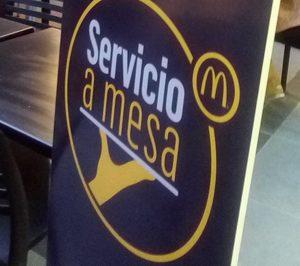 McDonalds abre una segunda fase en la incorporación de servicio a mesa