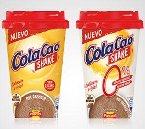 'ColaCao' innova en batidos 'on the go'