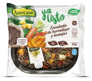 Huercasa presenta las ensaladas de legumbres Ya listo
