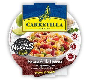 39 carretilla 39 presenta tres ensaladas inspiradas en la - Cocina quinta gama ...
