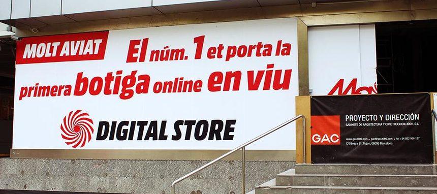 Media Markt abre su nueva tienda urbana digital de Barcelona ... 933a3c2d9c7