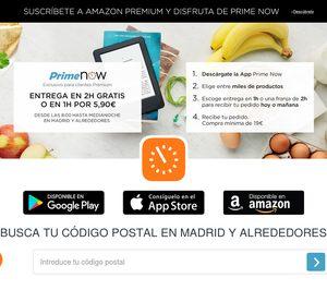 Amazon abre en  Madrid un almacén con el que entra en la distribución de frescos