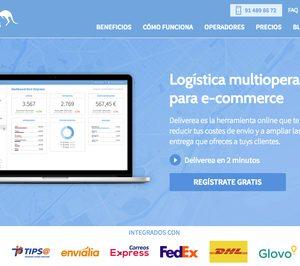 Deliverea conecta las tiendas on-line con los operadores de transporte