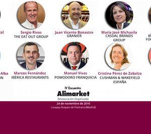 IV Encuentro Alimarket Restauración Organizada: Completo un excelente plantel de otro interesante programa