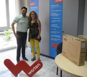 Worten apoya la inclusión de los dependientes a través del acceso a las TIC