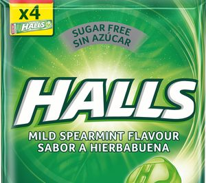 Halls suma un nuevo sabor de hierbabuena