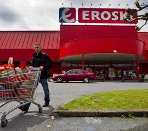 Vegalsa-Eroski inaugura el hipermercado de Ribadeo tras la reforma