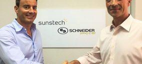 Afex Suns y Schneider firman un acuerdo comercial