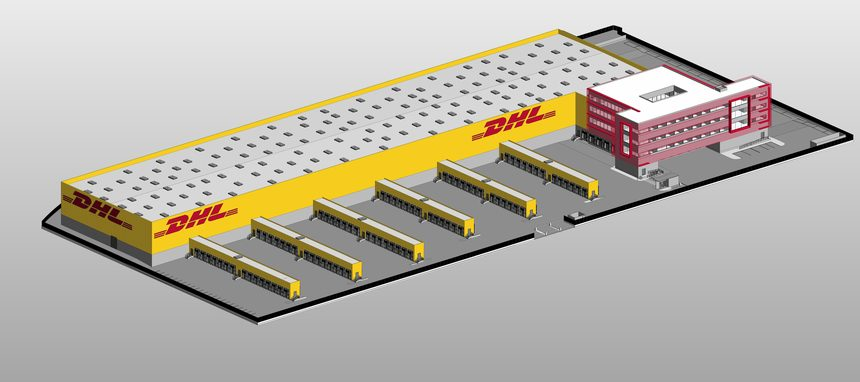 Macroinversi n de dhl express en barajas noticias de for Dhl madrid oficinas