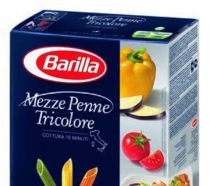 Barilla vuelve a crecer a doble dígito en pastas