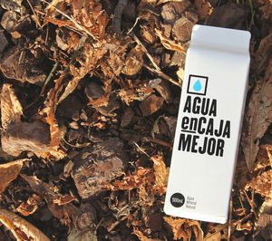Vuelve el agua mineral en cartón complejo con Fontsoria y Elopak