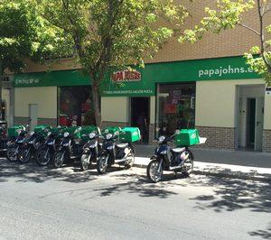 Papa Johns cierra su primer año en España con 16 unidades operativas