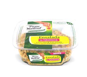 Pierre Martinet presenta su primera ensalada con quinoa
