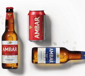 Cervezas Ambar rejuvenece su imagen