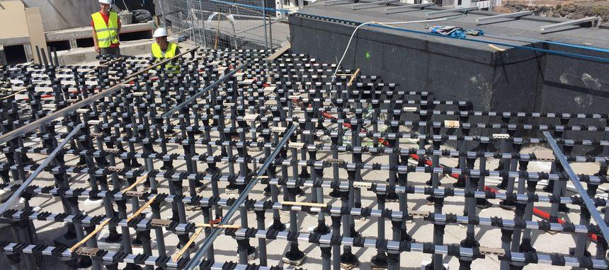 Lizabar Plastics participa en las obras del Hard Rock Hotel Tenerife