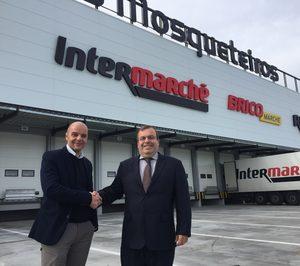 Chep amplía su contrato con Intermarché para los flujos con proveedores