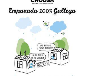 Ingapán lanza la campaña Empanada Chousa, más gallega que la indecisión