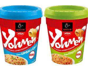 Gallo amplía su gama de noodles con Yohmen