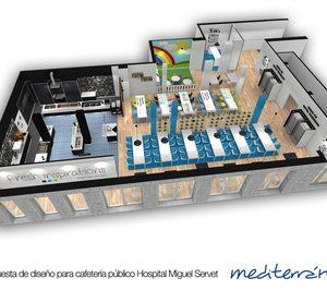 Mediterránea inicia las obras de la nueva cafetería del Hospital Miguel Servet