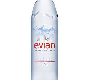 Evian presenta su nueva botella de 1,25 l