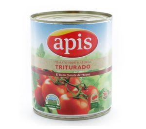 Apis se refuerza en el mercado de tomate natural