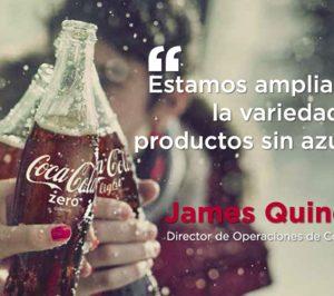 Coca-Cola ha reducido en España  un 38% el azúcar de sus bebidas