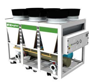 Keyter presenta nueva gama de enfriadoras de tornillo