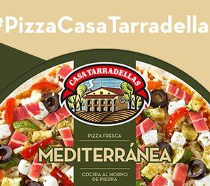 Tarradellas reformula su pizza mediterránea