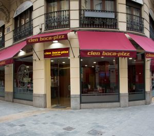 Cien Boca-Pizz proyecta sus primeras aperturas en Madrid