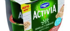 Activia Semillas (Yogures Saludables). Danone