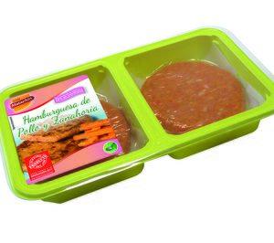 Hamburguesa  de pollo con zanahoria Casa Matachín (Hamburguesas). Aves Nobles y Derivados (Casa Matachín)