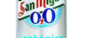 San Miguel 0,0 Isotónica (Cervezas sin alcohol). Mahou San Miguel