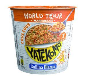 Yatekomo World Tour (Platos Preparados). The GB Foods (Gallina Blanca)