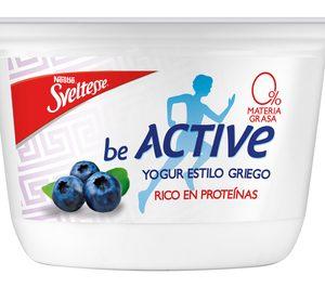 Lactalis Nestlé se suma a los yogures ricos en proteínas con Sveltesse BE ACTIVE