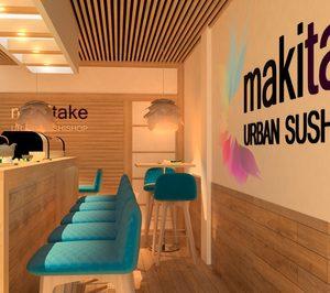 Makitake Urban Sushishop proyecta duplicar su cartera este año