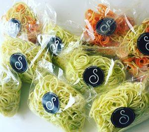 La startup Spaveggi impulsa su negocio de espaguetis de verduras