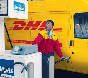 DHL introduce los camiones a gas en su flota española