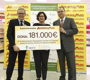 Ahorramas recauda 181.000 € para la AECC