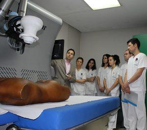 Vithas Nuestra Señora de Fátima prueba un robot para fisioterapia