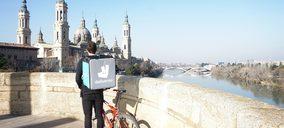 Deliveroo lleva su servicio a domicilio hasta Zaragoza