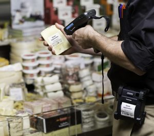 Toshiba, fuerte en impresión de etiquetas linerless en supermercados