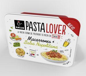 Gallo lanza Pastalover, una solución para cocinar pasta de forma rápida