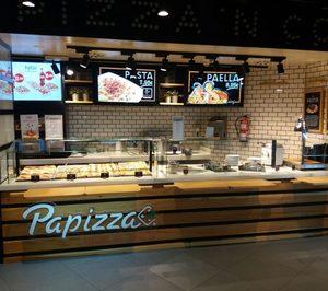 FoodBox y Áreas amplían su colaboración en aeropuertos a la marca Papizza