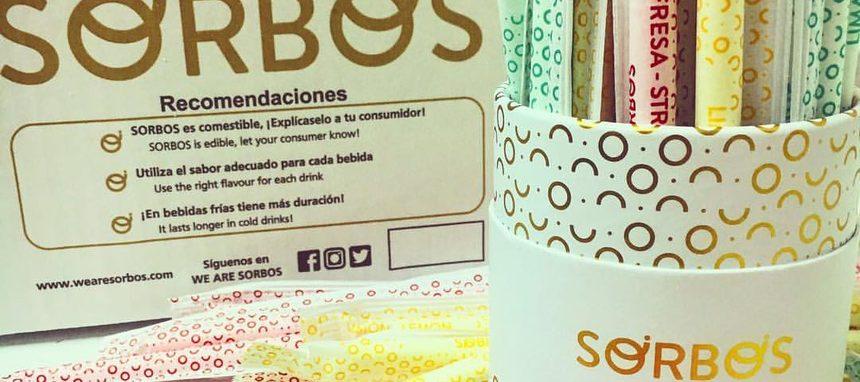 Sorbos, una startup que despega con sus pajitas comestibles