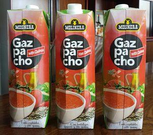 Cofrutos innova con gazpacho con quinoa para celiacos