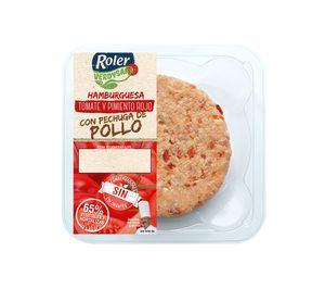 Roler introduce en la distribución las hamburguesas Verdysana
