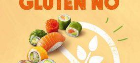 Sushi Daily libera de gluten casi toda la oferta de sus quioscos de Madrid