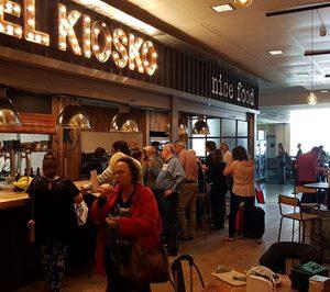 El Kiosko hace su entrada en el canal aeroportuario con SSP