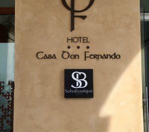 Soho Boutique Hotels materializa el alquiler del Casa Don Fernando